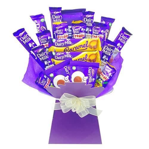 Chocolate Bouquet Cadbury Dairy Milk Gift Chocolate Lovers Hamper