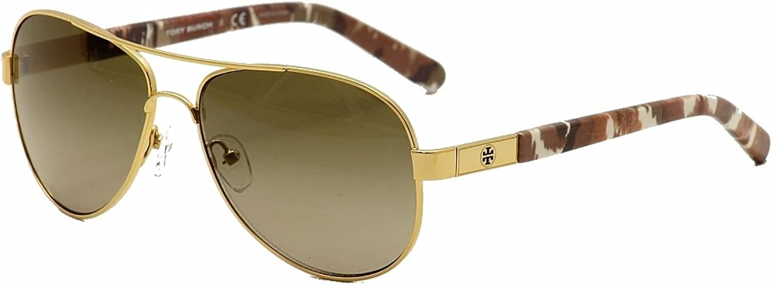 Tory Burch Sunglasses  TY6010   Frame  gold Matmi Lens  Brown Gradient