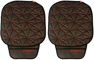 Space CoolPad Car Seat Cushion Black and Red Set of 2
