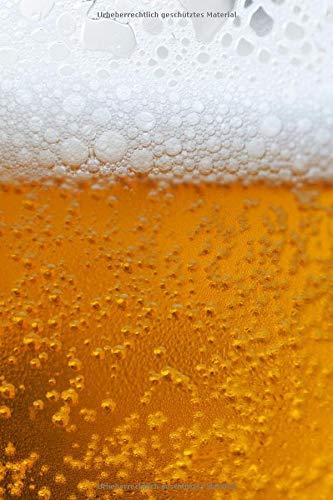 Kaltes Bier: Notizblock, Tagebuch, Rezeptbuch, Bier-Gourmet. (Ein Notizbuch mit einem Foto auf dem Umschlag)