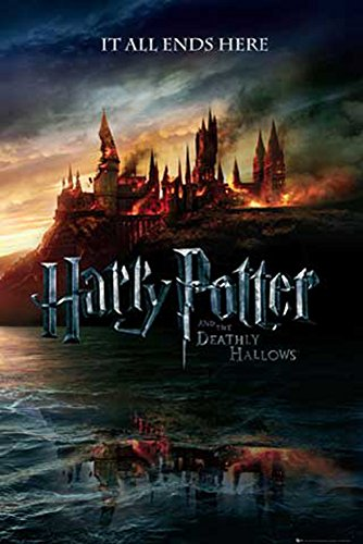 Harry Potter - 7 - Teaser - Filmposter Kino Movie und die Heiligtümer des Todes - Grösse 61x91,5 cm + 1 Ü-Poster der Grösse 61x91,5cm