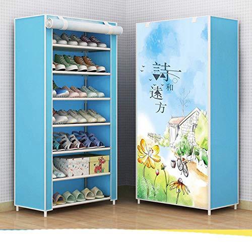 Organizador multifunción para zapatos creativos de secado de zapatos para colgar zapatos para niños zapatos de almacenamiento de piso-velcro 11