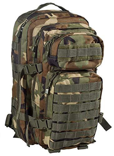AB Sac à Dos Robust US Assault I 28 litres (Petit/Woodland)