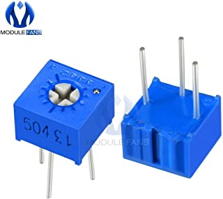 10PCS 3362P Trimmer Potentiometer Variable Resistor Cermet Trimpot 100R 200R 500R 1K 2K 5K 10K 20K 50K 100K 200K 500K 1M Ohm
