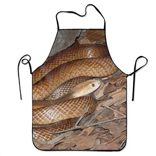 N\A Animal Taipan Snakes Kitchen Kochschürze Unisex Funny Chef Schürzen