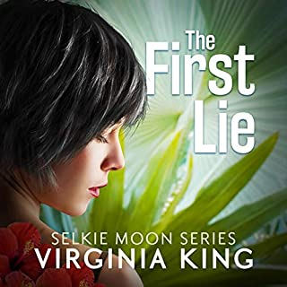 The First Lie audiobook cover art