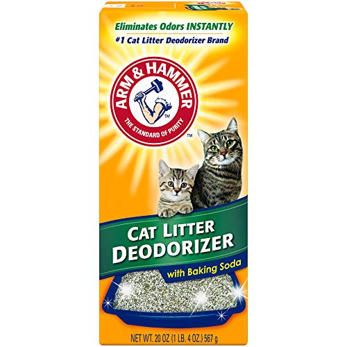 Arm & Hammer Cat Litter Deodorizer, With Baking Soda, 20 oz