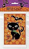 Unique Party - Bolsos de Fiesta de Halloween - Diseño de Botas Espeluznantes - Paquete de 50 (44265)