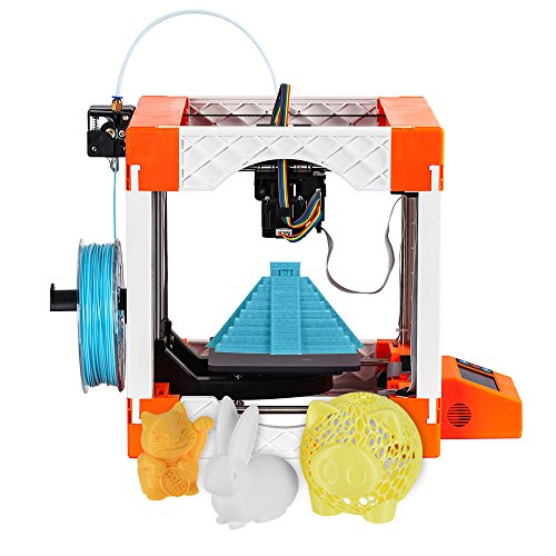 Aibecy Weedo F100 Mini Desktop 3D Printer with LCD12864 Screen Display 20-50mm/s Printing Speed Self-assembly DIY 3D Printer for Amateurs Students Children