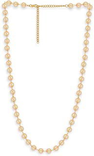 Accessher Pearl Stones Used Waist Chain for Women