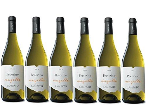 Vino Bianco Pecorino I.G.T. 2020 Cantine'LAMPATO' Colline Pescaresi - Abruzzo - Italy - Box da 6 Bottiglie da 0,75 lt.
