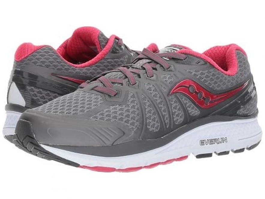 収まる更新疎外するSaucony(サッカニー) レディース 女性用 シューズ 靴 スニーカー 運動靴 Echelon 6 - Grey/Pink 10.5 B - Medium [並行輸入品]