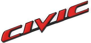 para Honda Civic Type R TAYDMEO Etiqueta autoadhesiva del Emblema de la Insignia del Coche del Metal 3D