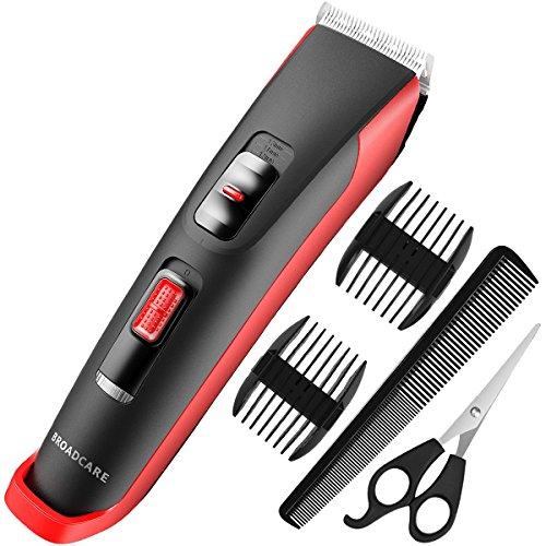 Tagliacapelli, Set di tagliacapelli senza fili per uomo, Trimmer per capelli per uomo,...