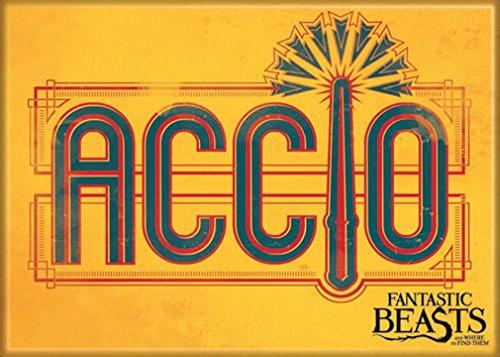 Ata Boy Fantastic Beasts Accio Magnet für Kühlschrank und Schließfächer, 6,4 x 8,9 cm