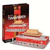 CubicFun 3D Three-Dimensional Puzzle Tiananmen (Japan Import) by