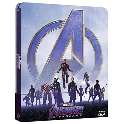 Marvel Avengers endgame 3d steelbook (Limited Edition) (3 Blu Ray)
