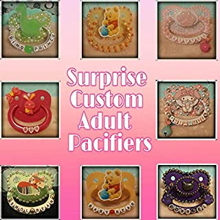 Surprise Custom Adult Pacifiers ABDL/DDLG