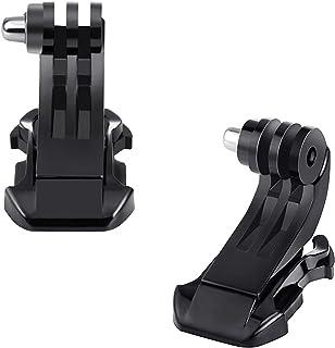 Digicharge 2 x Boucle Clip Yta Verticale J-Crochet Monture Rapide, Kompatibel avec Caméra d'action GoPro Akaso Crosstour C...