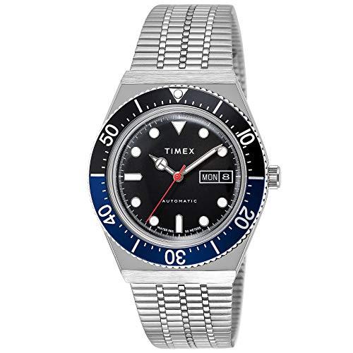 [タイメックス] 自動巻き腕時計 M79 TW2U29500 メンズ シルバー