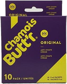 Chamois Butt'r Original Anti-Chafe Cream, 10-pack of 9mL packets