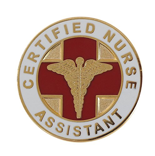 Forge Certified Nurse Assistant CNA Lapel Pin- 5 Pack