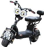LAZNG Bicicletas for adultos Scooters eléctricos 48V 800W City Electric ciclomotor, de soporte de carga 150kg, la absorción de choque hidráulico, la pantalla LCD del instrumento y Smart Sistema de car