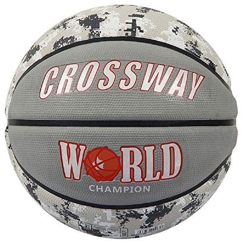 Why Should You Buy CROSSWAY Basketball Ball Import Rubber Size7 with Net Bag + Needle (Gray)