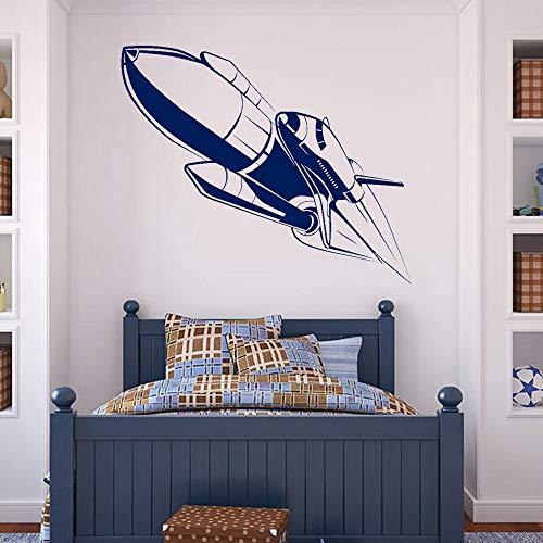 Tianpengyuanshuai muursticker astronave ster planet huis binnen vinyl muursticker voor slaapkamer woonkamer decoratie