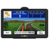 GPS Navigation for Car, 7 Inch Car GPS Navigation System 8GB Touch Screen Vehicle GPS Navigator with Lifetime Map Update