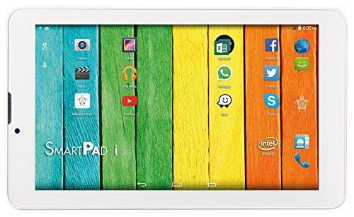 Mediacom SmartPad 7 Tablet, Display da 7  IPS, Memoria Interna da 16 GB Processore Intel Atom x3 Quad Core, 1.2 GHz