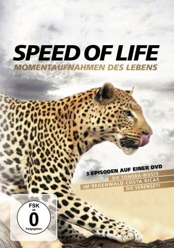 Speed of Life: Momentaufnahmen des Lebens - 3 Episoden auf einer DVD [Dokumentation Natur - 122 Min.] (Pal, Full Length)