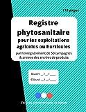 Registre phytosanitaire pour les...