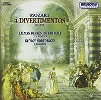Mozart: Divertimentos in B-Flat Major No. 1 No. 2
