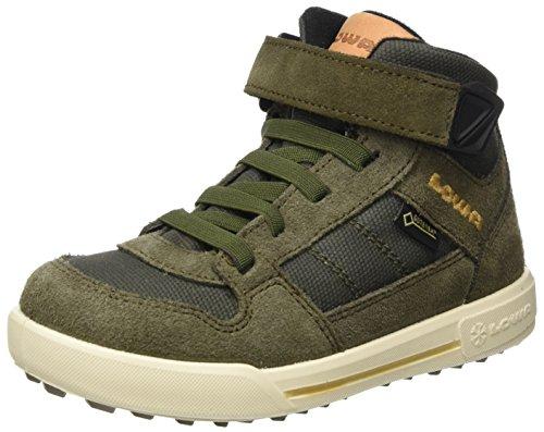 Lowa Unisex-Kinder Mika Ii GTX Hohe Sneaker, Braun (Olive), 28 EU