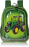 John Deere Boys' Backpack, Green Lime