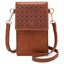 DCCN Sac à bandoulière mobile, petit sac à bandoulière pour dame femme