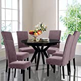 GONSGADAPP New Elastic Chair Cover Stretch Removable Washable Short Dining Chair Cover