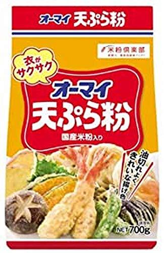 オーマイ 天ぷら粉 700g×3個