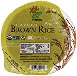 Steamed Brown Rice Bowl, Organic, Microwaveable, 7.4 OZ Bowls (Pack Of 12)
