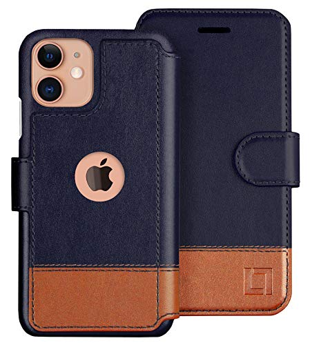 LUPA iPhone 11 Wallet Case -Slim iPhone 11 Case with Card Holder, for Women & Men, Faux Leather i Phone 11 Purse Cases with Magnetic Closure, Desert Sky