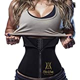 EGD Body Shaper Waist Trainer Corset for Weight Loss Quality and Comfort (XL) Black