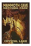 Rompecabezas Puzzle Rompecabezas de Madera Parque Nacional Mammoth Cave Kentucky - Crystal Lake 75.5X50.3CM