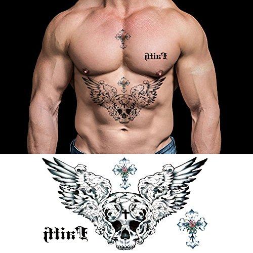 Large Tattoos Fake Temporary Body Art St Buy Online In Belize At Desertcart