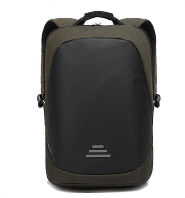 WYXIN Anti-Dieb Zipper Business Laptop Rucksack mit USB Ladeanschluss, leichte wasserdichte Reise Daypack College Bag mit versteckten Fach für Männer und Frauen B078XTS1BV  Ausgezeichnete Funktion