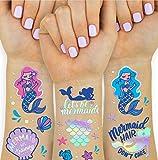 Fetti Mermaid Tattoos for Kids
