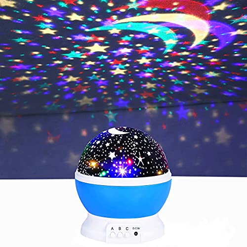 WDYS 360-Degree Rotating Star Projector Only $8.99 (Retail $44.95)