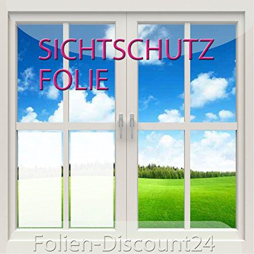 (EUR 6,33 / Quadratmeter) Fensterfolie | Sichtschutz Folie | 200 x 30 cm | Frosted Preis Tip! Sonnenschutz