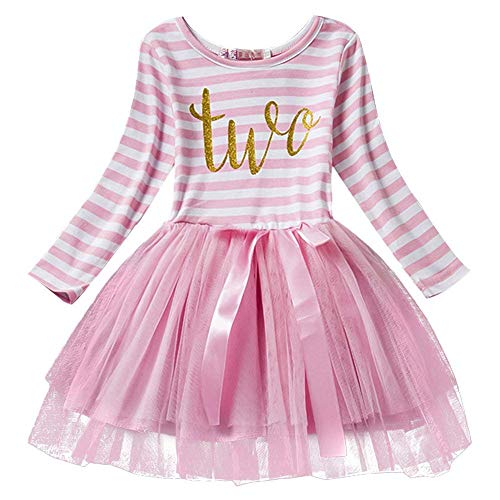 Live It Style It - Robe - Patineuse - Bébé (Fille) 0 à 24 Mois 0-3 Ans - Rose - 0-3 Ans