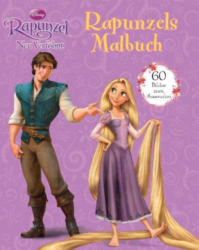 Disney: Rapunzel - neu verföhnt. Rapunzels Malbuch: 60 Bilder zum Ausmalen